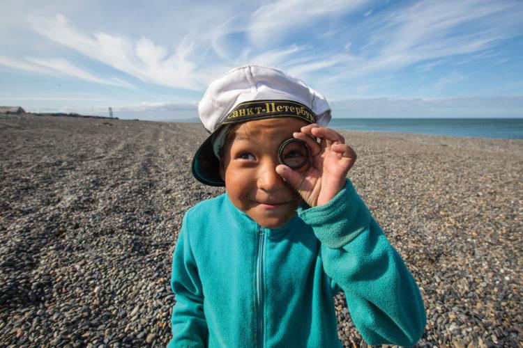 A boy from Uelen village, photo credit Ray Stranagan