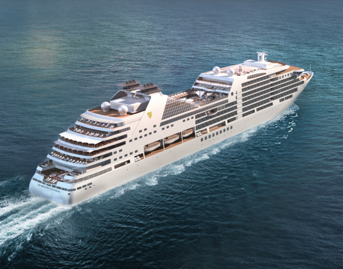 Seabourn's Fifth Luxury Ship