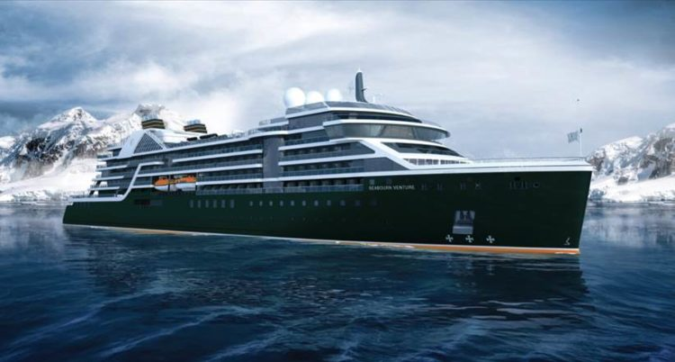 New luxury cruise ship Seabourn Venture