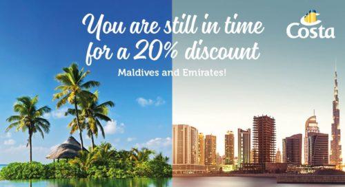 Costa Maldives and Emirates Cruises