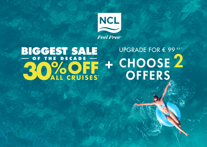 NCL biggest Sale of the decade