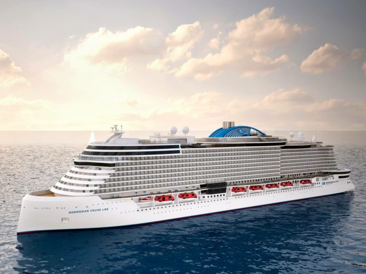 NCL new ship